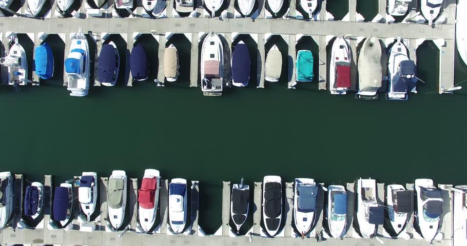 Marina from Above  | Shutterstock HD Video #13720304