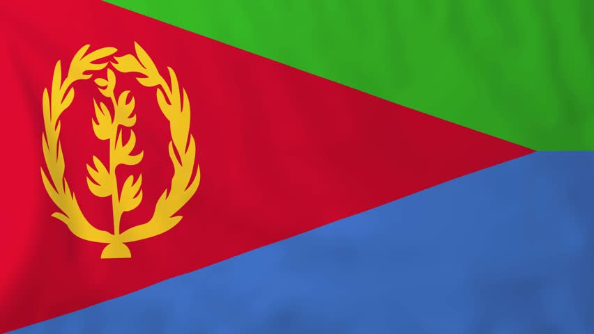 Download Flag of Eritrea, Slow Motion Stock Footage Video (100% Royalty-free) 13774709 | Shutterstock