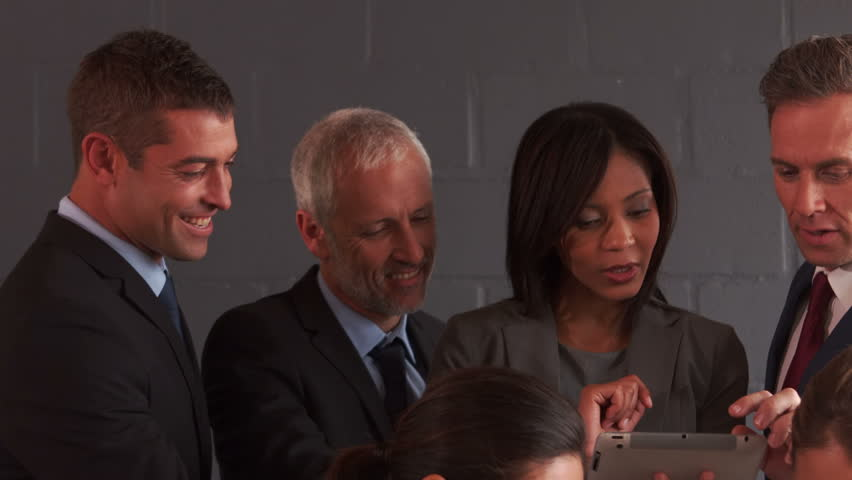 Business people working together in the office | Shutterstock HD Video #13775063