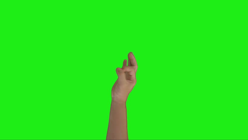 Hand gestures for Okay symbol with green screen.  | Shutterstock HD Video #13779752
