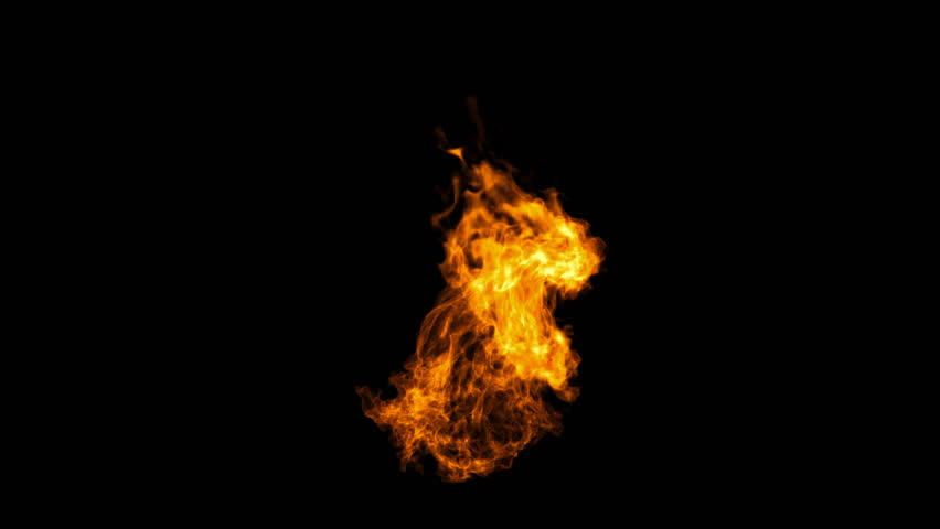 Realistic Fire with alpha, Full HD. Fire Animation | Shutterstock HD Video #13787048