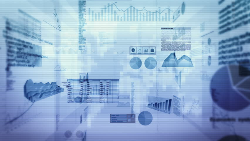 Financial data and charts. Dolly in. Loop able. Cyan-Green. 2 videos in 1 file. Financial data and charts showing increasing profits. More color options in my portfolio. | Shutterstock HD Video #13806686
