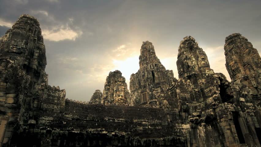 Bayon temple, Angkor, Siem Reap, Cambodia.