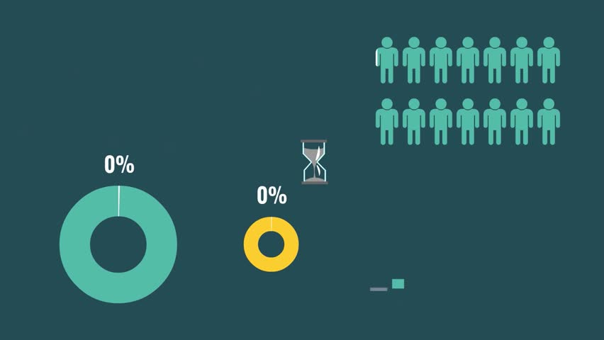 Reflection of figures and statistics in the form of graphs, change the schedule, statistics infographics with numbers, people doing business presentation, information statistics    Shutterstock HD Video #13838345