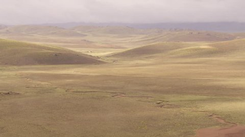 Patagonian plains north of Lake Buenos Aires, Chubut - Chubut, Argentina, February, 2015
