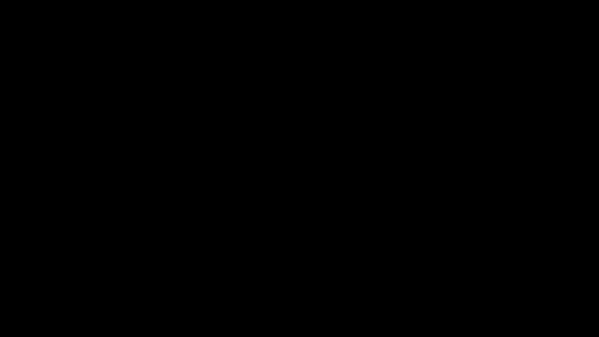 split white triangle motion graphic