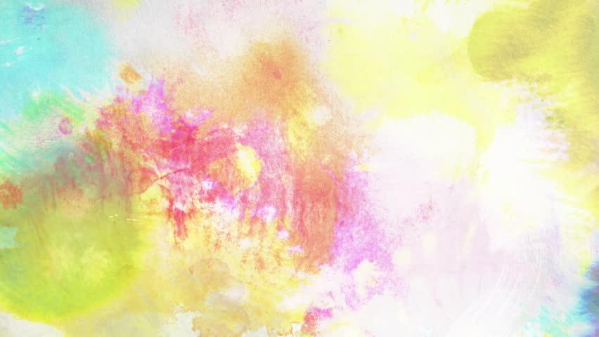 Vibrant Watercolor Loop