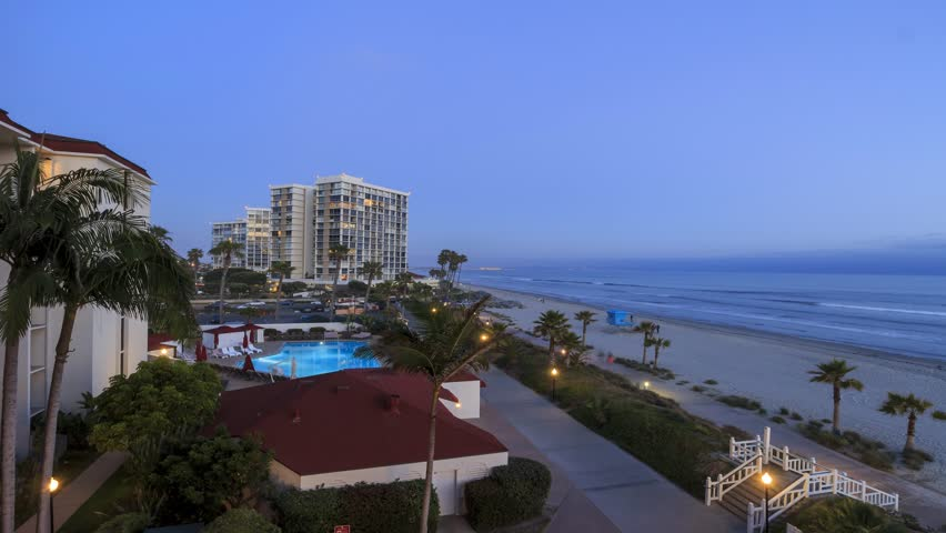 San Diego - California: 4K timelapse of Hotel del Coronado, San Diego, California, MAY 28, 2015   Shutterstock HD Video #13915472