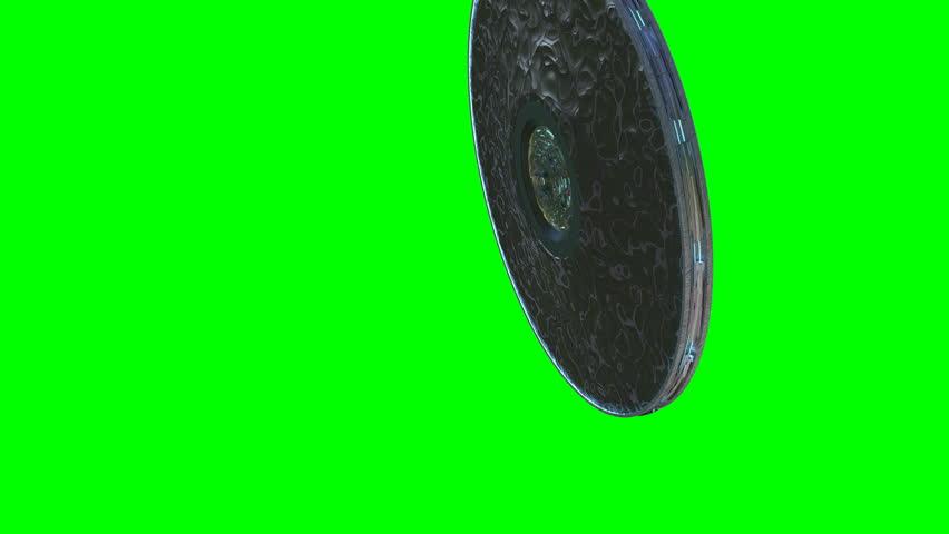 Alien UFO animation