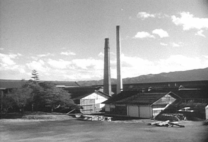 CIRCA 1950s - With American assistance privately and federally, the Japanese industrial revolution blossomed,1957, in mass production methods, with shipbuilding and textiles leading the way.