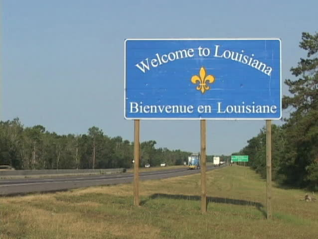 Welcome to louisiana Footage Stock Clips