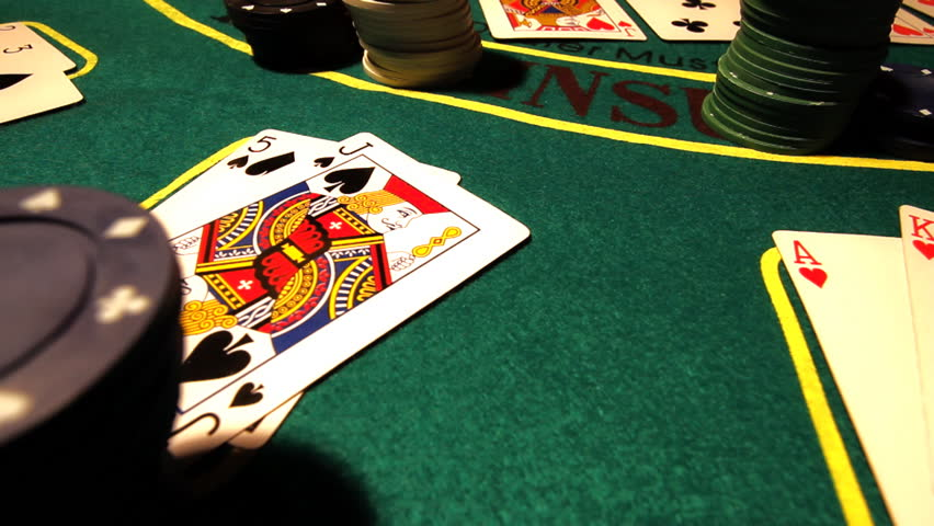 Poker table Texas Hold'Em, professional dolly shot. | Shutterstock HD Video #1406065