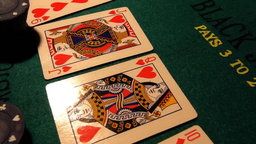 Poker table, professional dolly shot. | Shutterstock HD Video #1406107