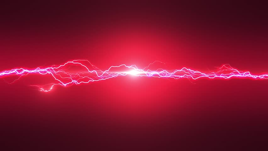 Red Lightning Loop Able Stock Footage Video 100 Royalty Free 14063327 Shutterstock