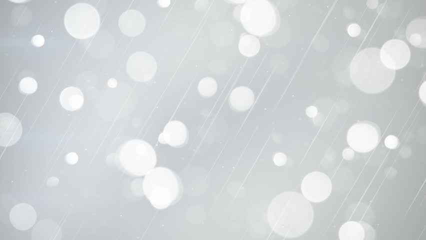 white bokeh lights. seamless loop abstract motion background. 4k (4096x2304)  #14084285
