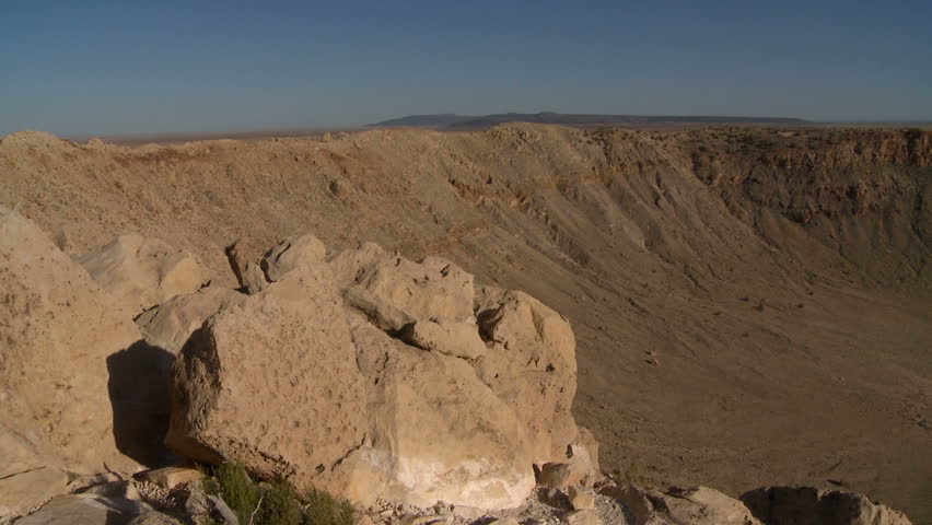 Meteor Crater in Arizona | Shutterstock HD Video #1408459
