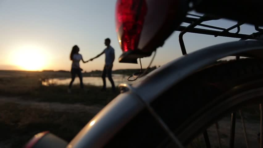 Beautiful couple walking   Shutterstock HD Video #14101325