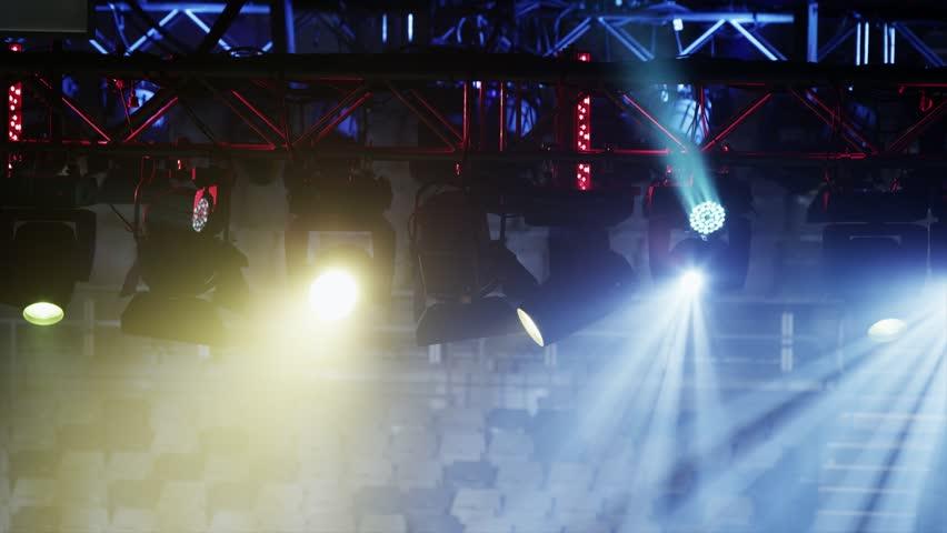 Shifting Event Lighting | Shutterstock HD Video #14131382