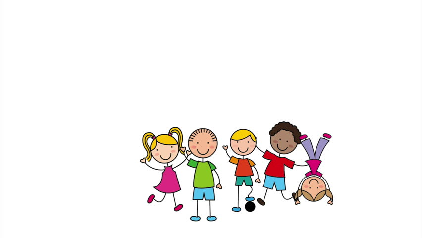 Happy Children Design, Video Animation Stock Footage Video (100%  Royalty-free) 14146115 | Shutterstock