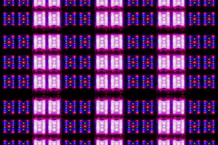 2 cell purple and blue blinking motion graphic #1416961