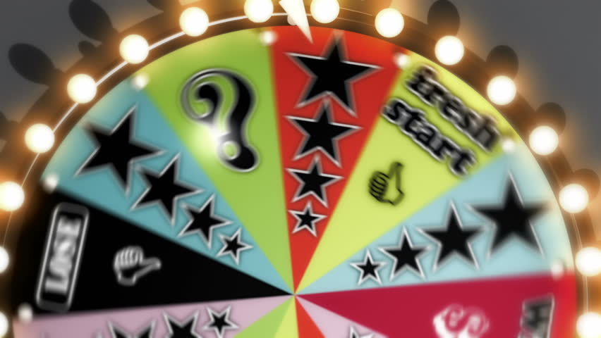 Win, Lose and Fresh Start Spinning Wheel Slots 4K