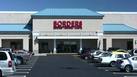 Borders store up for sale due to lack of cash flow