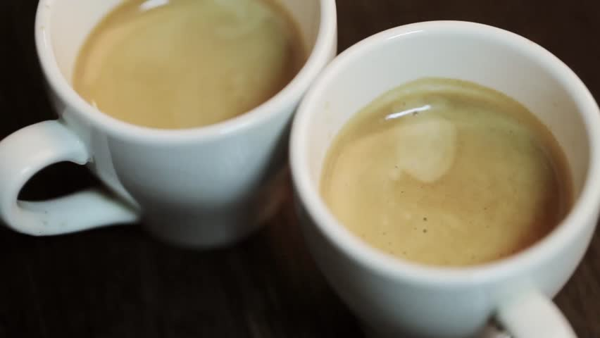 Two Cups Of Fresh Cooked Stock Footage Video 100 Royalty Free 14252714 Shutterstock
