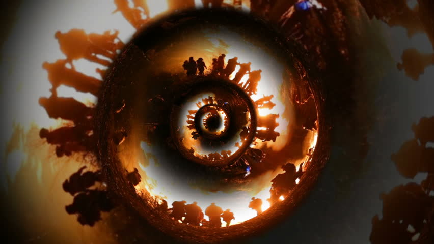 Ancestral family generation spiral artistic time infinity fire earth spiritual reincarnation