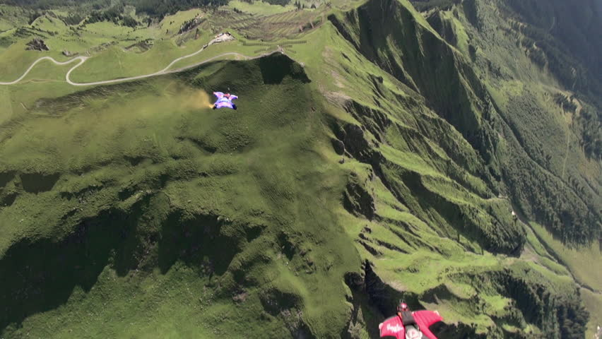 Wingsuit basejump