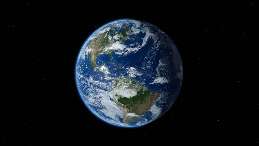 Earth zoom in from space to street level. Zoom to North America. 4K | Shutterstock HD Video #14294533