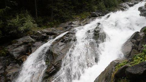 Stuibenfall, a waterfall in Austria