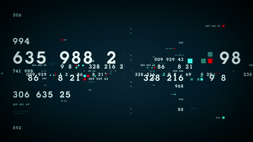 Data and Numbers - Data and number values passing through cyberspace. All clips are available in multiple color options. All clips loop seamlessly. | Shutterstock HD Video #14396851