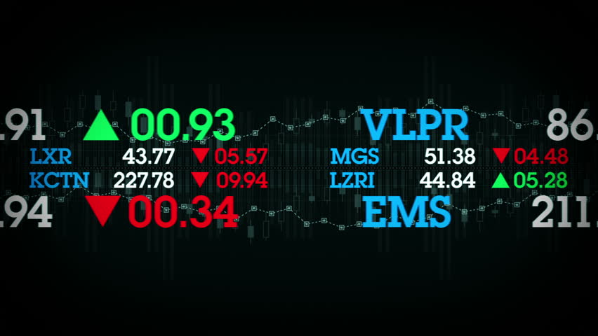 Stock Tickers - The stock values of fictional companies scroll by on stock tickers. This clip is available in multiple color options and loops seamlessly. | Shutterstock HD Video #14396866