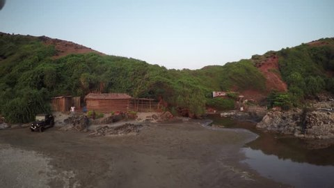 4K / HD Aerial Footage . India, Goa. Originally shot in 4K on GoPro Hero 4 Black with Protune mode on in 3840x2160 25p