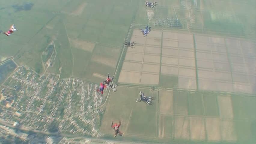 Skydiving video #1446412