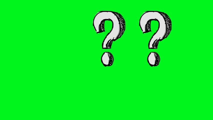 hand-drawn question mark #14512075