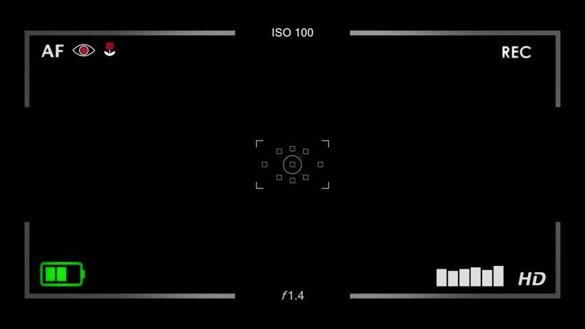 Видоискатель футаж пленочного фотоаппарата