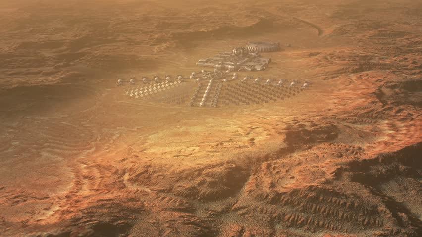 Mars colonization concept  | Shutterstock HD Video #14548411