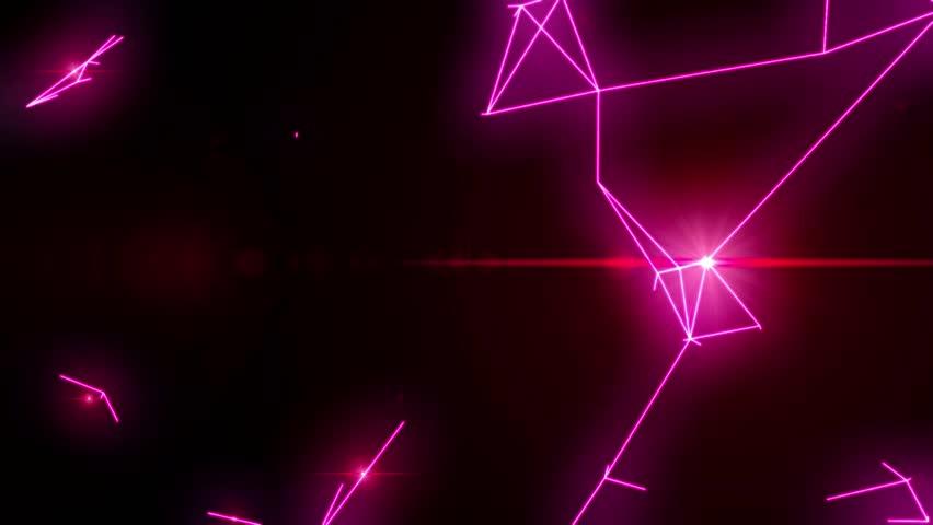 Electrical arcs neon lightning retro future vr voltage glow vector tron loop 4k #14592796