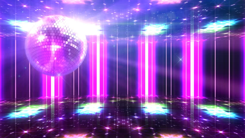 Disco and Club Space simple CGI image background. | Shutterstock HD Video #1460086