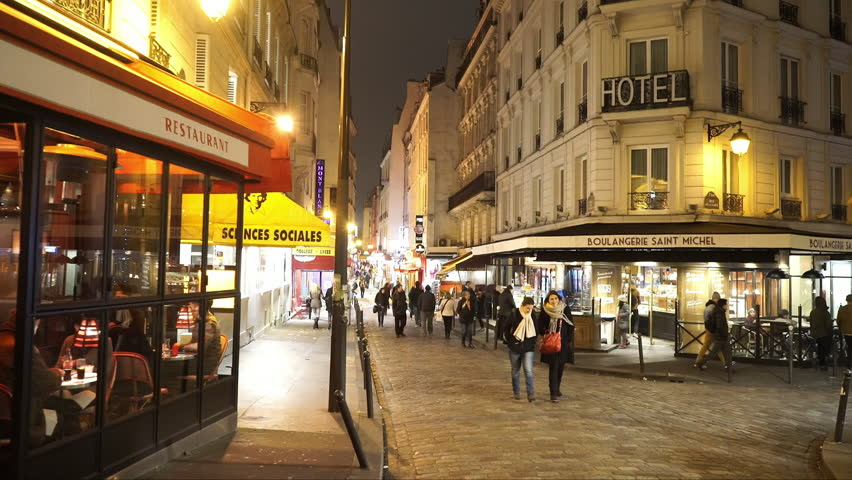 Paris St Germain District and Stock Footage Video (100% Royalty-free)  14642230 | Shutterstock