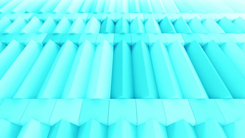 Abstract rectangular and box elements background with randomly rotated elements, 3d render or boxes and rectangles with fillet edges, loopable | Shutterstock HD Video #14660173