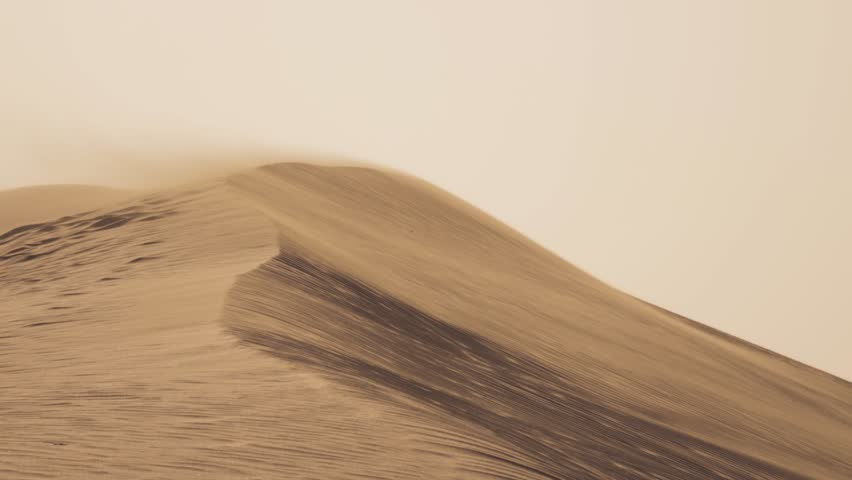 DUNES AND WIND - DESERT