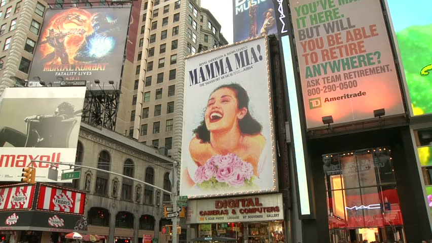 NEW YORK - CIRCA APRIL 2011 - Zoom in to