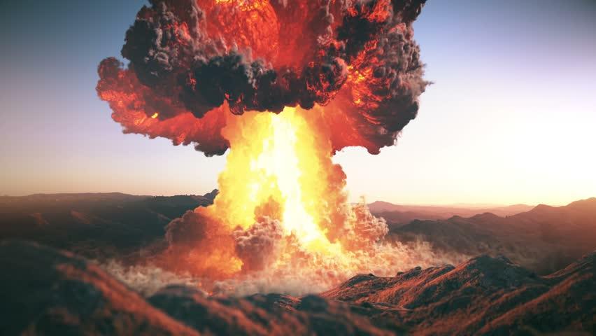 Atomic Bomb Nuke Explosion 4K