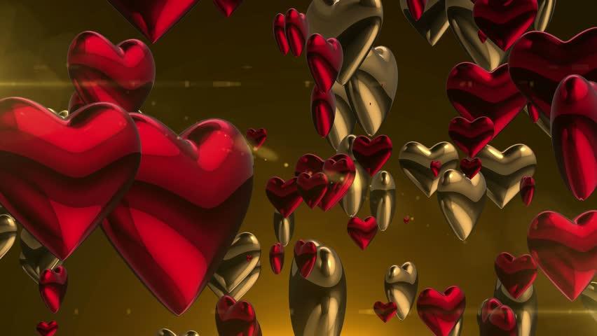 Движущиеся сердце переслать картинку