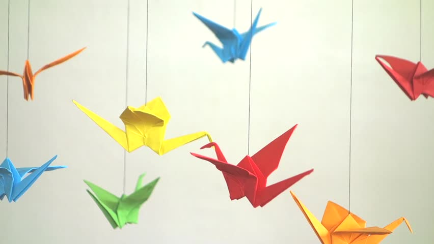 Origami Cranes Stock Photo, Picture And Royalty Free Image. Image ...   480x852