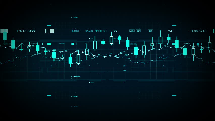 Financial Data Tracking - A camera travels across financial data in cyberspace. Available in multiple colors. Loops seamlessly. | Shutterstock HD Video #15016342