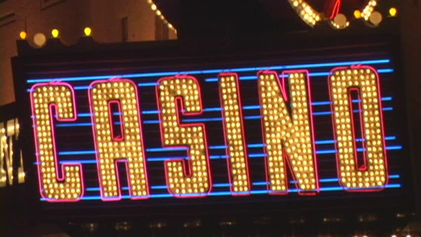 Casino LED Sign
