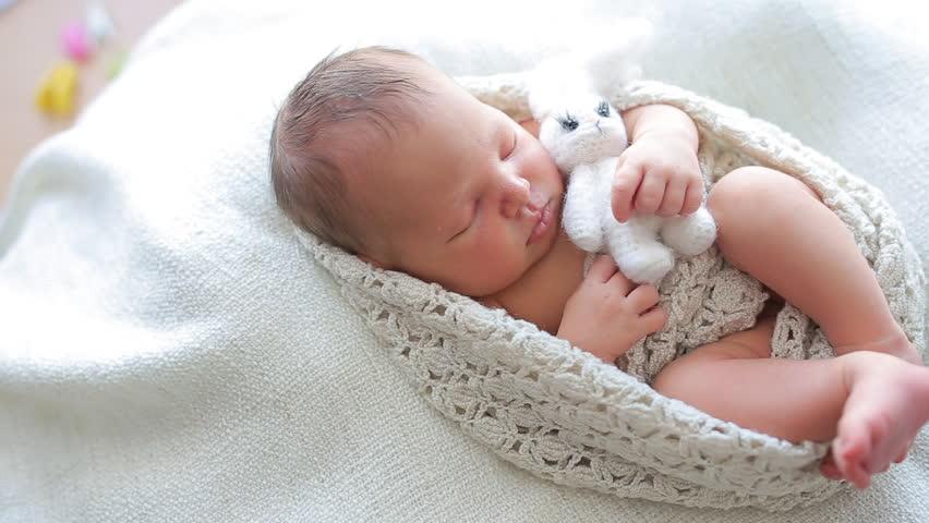 Cute Baby Sleeping Stock Footage Video 100 Royalty Free 15064015 Shutterstock
